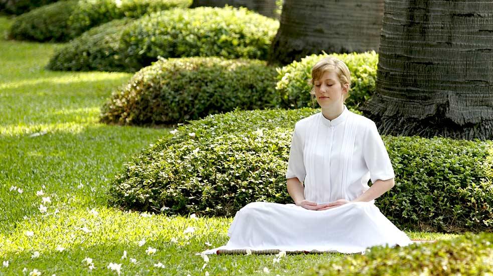 Meditace Bali