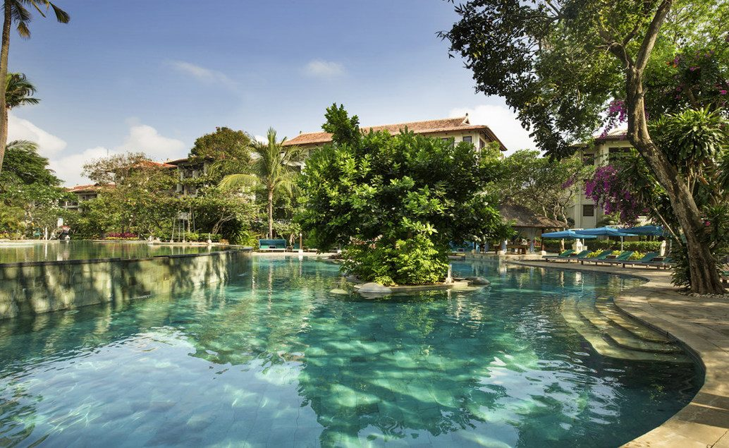 Novotel Nusa Dua Bali&Residence 5*****, pláž Nusa Dua