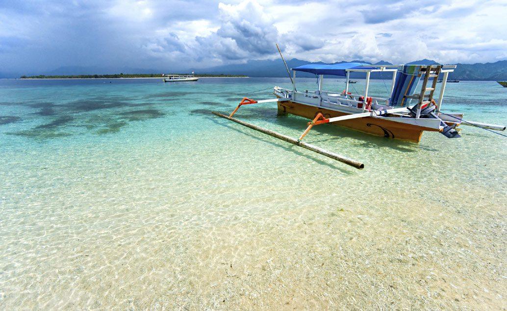 Panenské pláže na Gili ostrovech