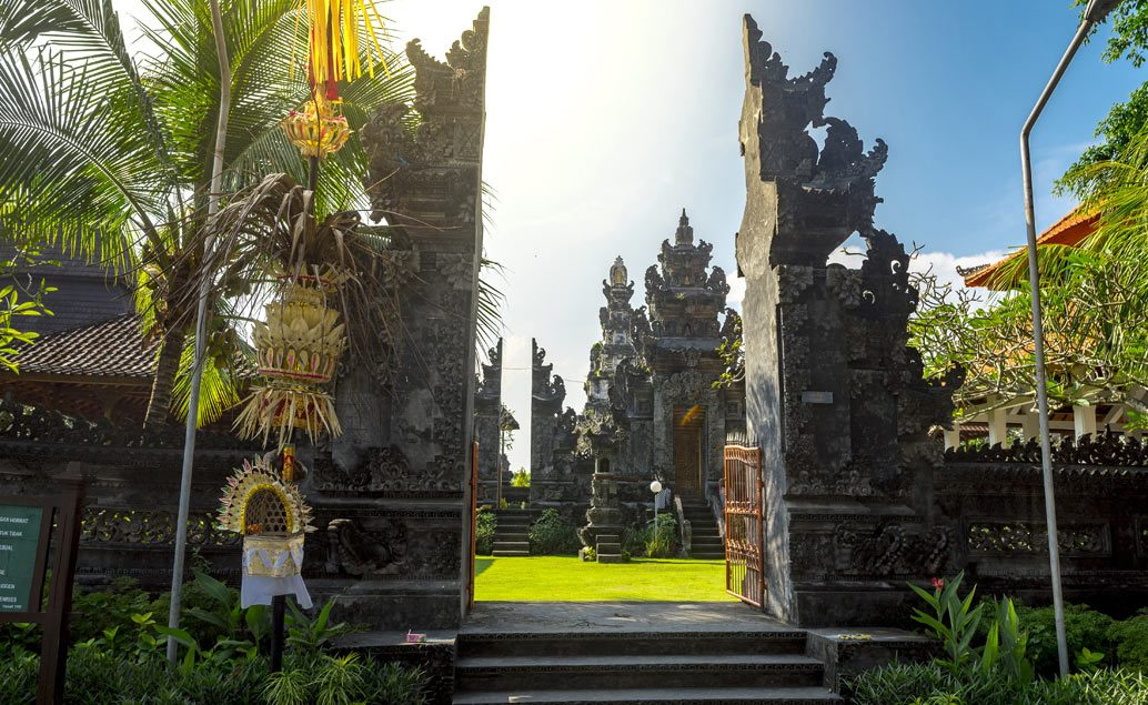 Příroda a chrámy Bali